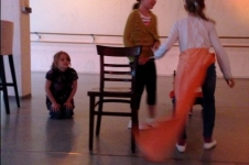 Kinder-Theaterwerkstatt in der Tanzschule Movimiento Sommerferien 2013